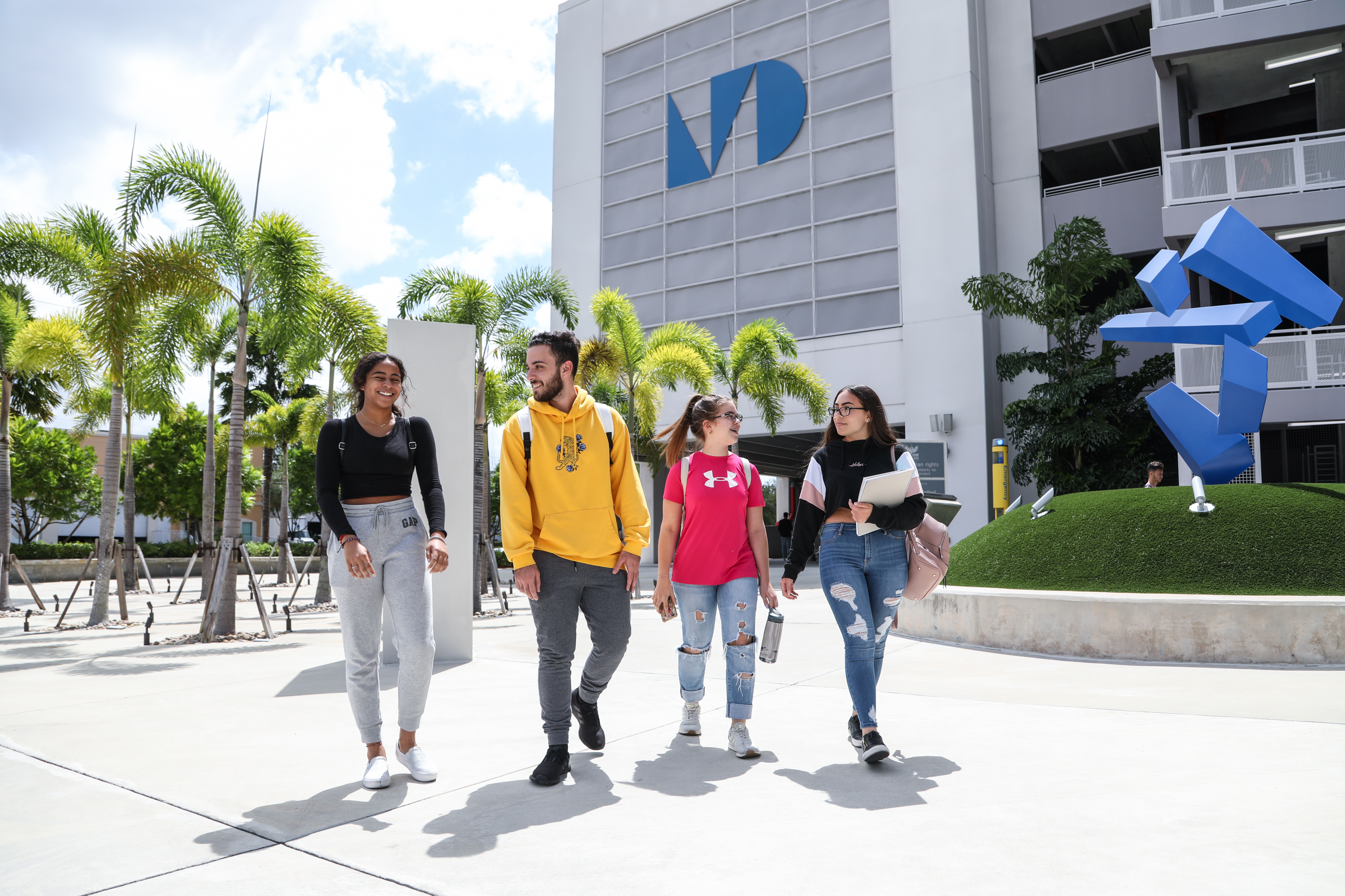 First week of classes at West Campus, Fall semester 2019, September 19, 2019