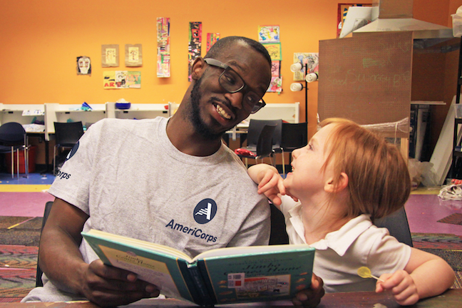 Compared to the average American adult, AmeriCorps alumni are more likely to attain a bachelor's degree or higher, the agency says. (Photo: AmeriCorps)