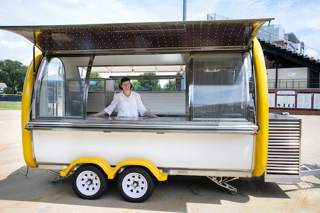 The mission of John Carroll University's food truck will be to generate enough income to also serve meals to Cleveland's homeless community.