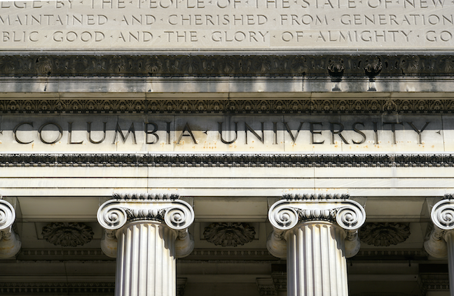 Student tuition strikers at Columbia University say they want administrators to take more decisive action against anti-black racism on campus and in the surrounding West Harlem community. (GettyImages/Bruce Yuanyue Bi)