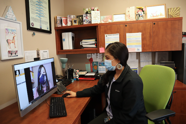 Diné College ramped up social media marketing in its successful efforts to maintain enrollment this spring.