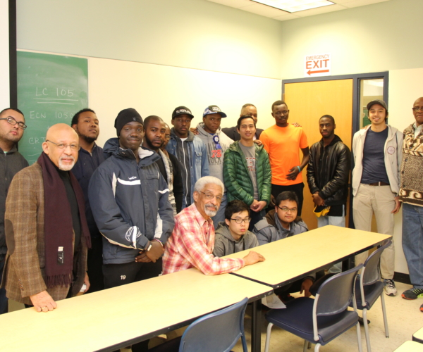 Holyoke Community College's ALANA Men in Motion program provides academic support, mentoring, counseling and career planning guidance to African American, Latino, Asian and Native American men.