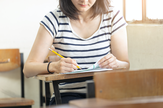 More colleges and universities have made SATs and ACTs optional since the COVID outbreak. (AdobeStock/panitan)