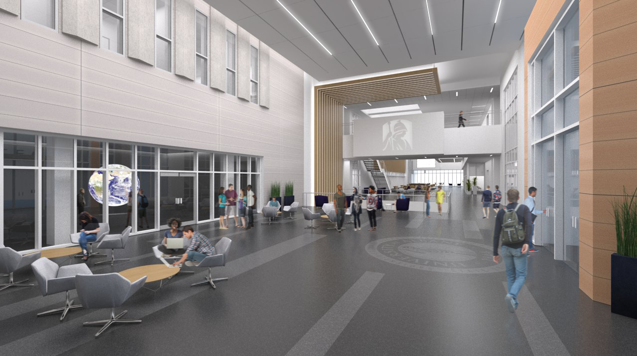 The Emerging Technology and Entrepreneurship Complex at the State University of New York at Albany will bring together more than 200 full-time faculty and researchers, 100 research and industry partners and as many as 800 students under one roof. (