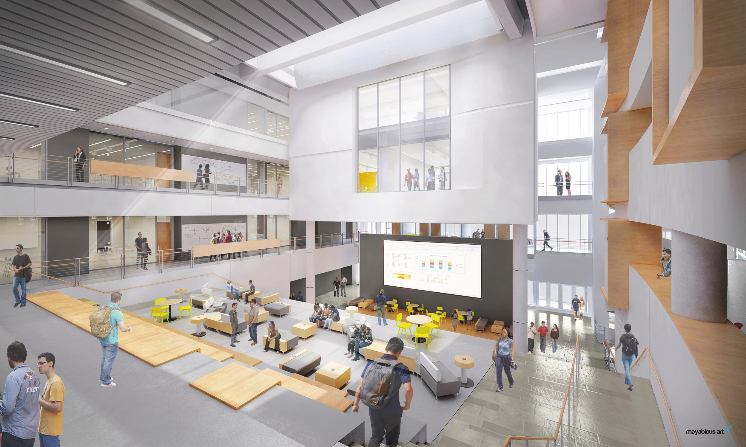 Towson University Jess & Mildred Fisher College of Science and Mathematics – Credit CannonDesign