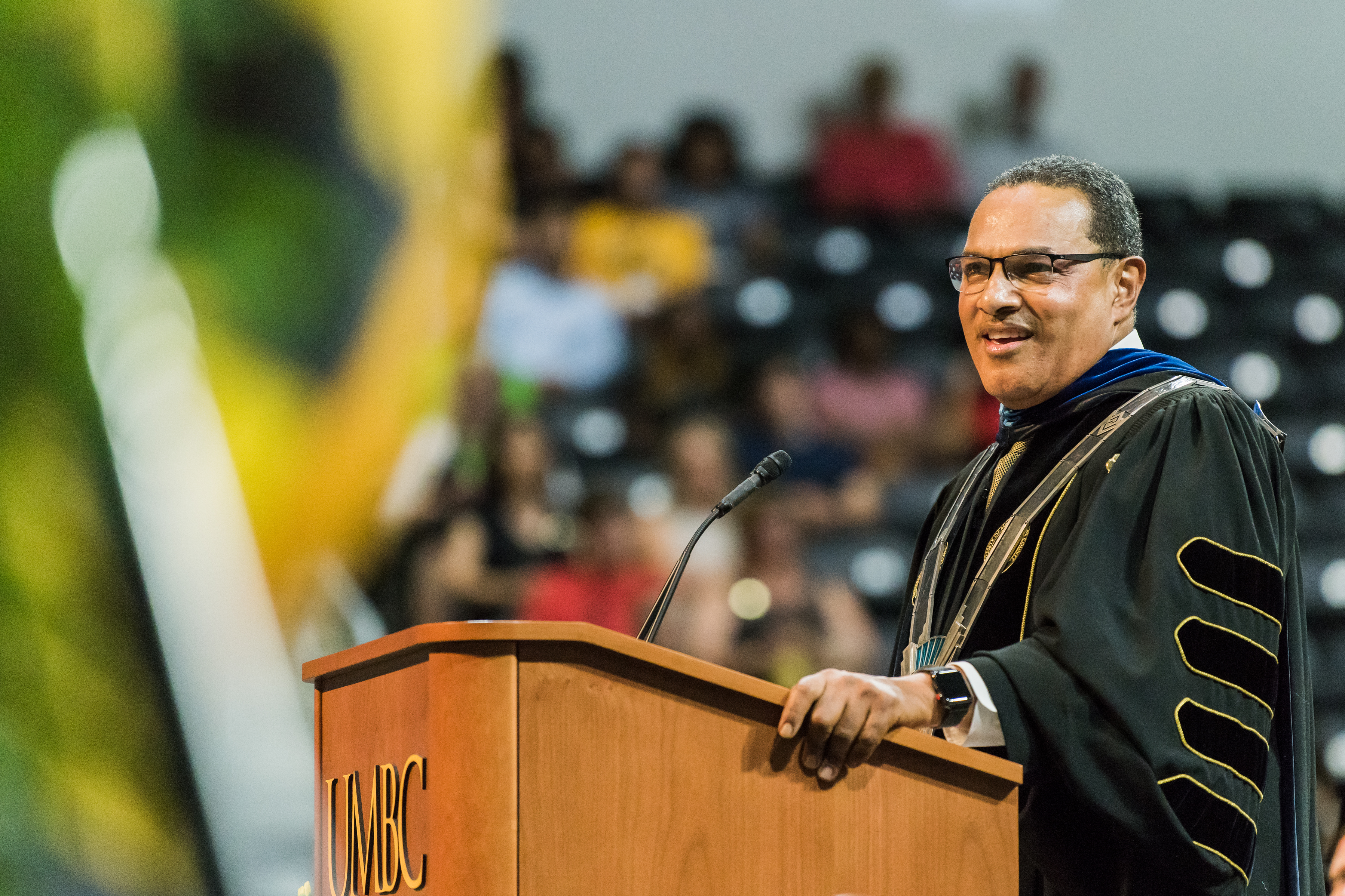 President Freeman Hrabowski, who will retire from UMBC in spring 2022, brought increased attention to college access over the past three decades. (Marlayna Demond for UMBC)