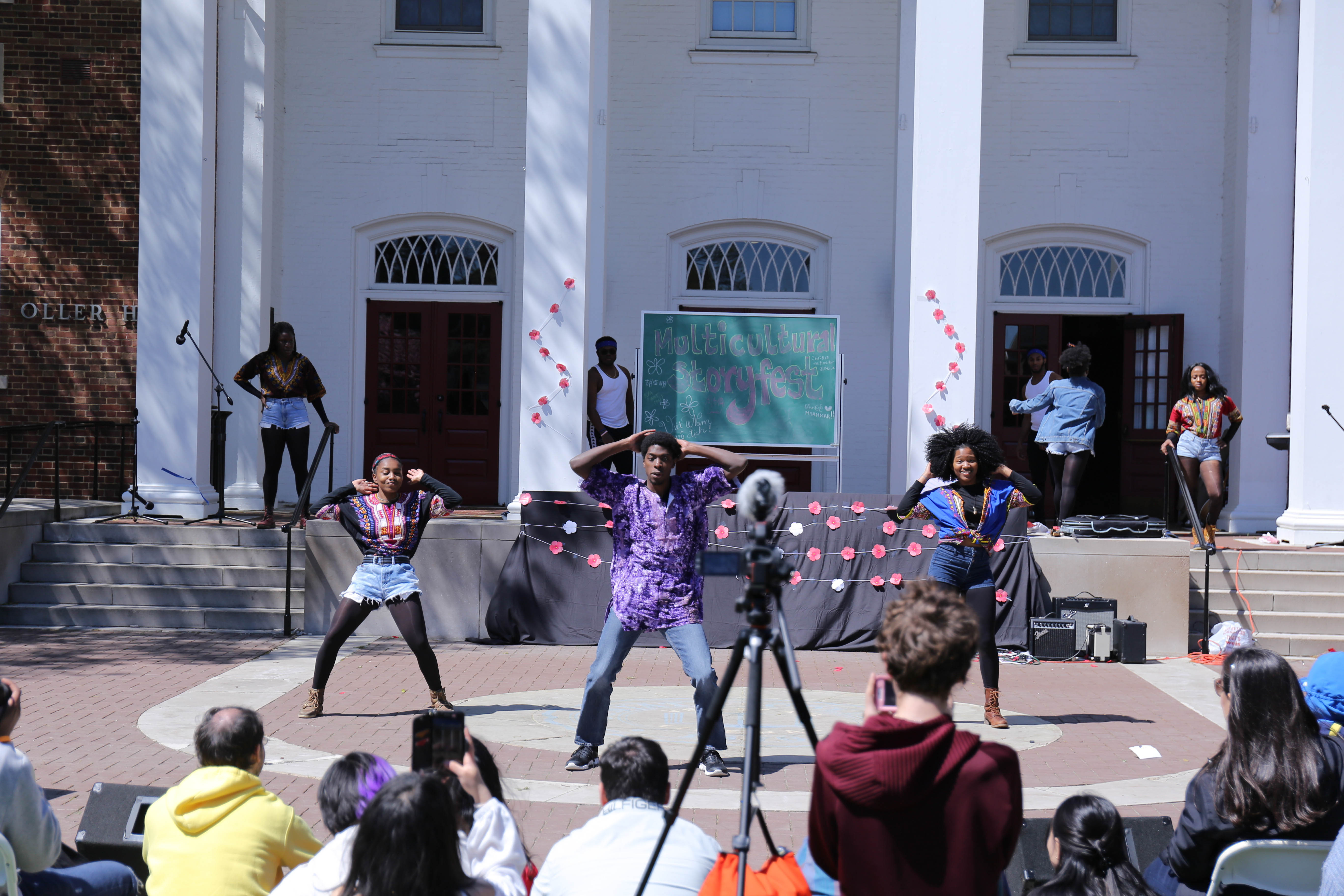 Multicultural Storyfest takes place annually at Juniata College.