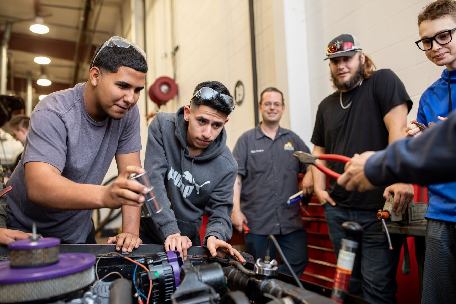"""Gateway Community & Technical College is working to ensure students experience more of a """"warm hand-off"""" between high school and college, college and four-year universities, and higher ed and the workforce."""